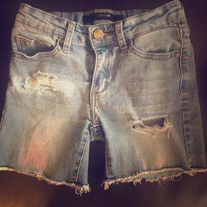 Girls Joe Jean Shorts